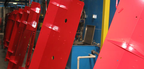 Conveyorized Powder Coating