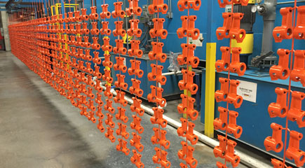 Powder Coating Production Line